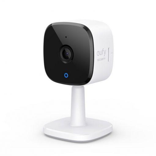 Eufy Indoor Cam 2K Black+White Stand Alone
