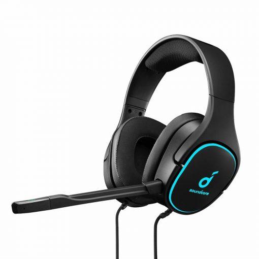 Anker Soundcore Strike 3 Gaming Headset - Black/Blue
