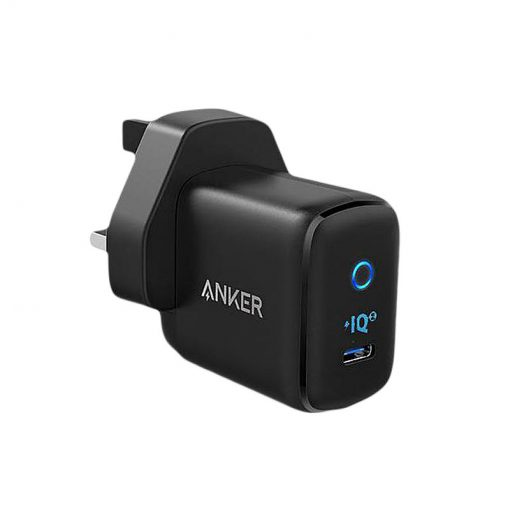 Anker PowerPort III mini 30W Charger with USB-C PowerIQ 3.0 Port UK Black
