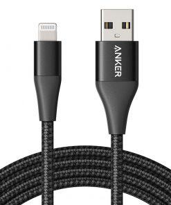 Anker Powerline+ II Lightning Cable (1.8m/6ft) - Black