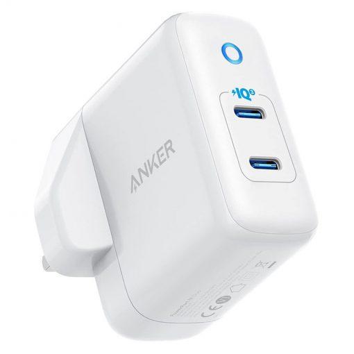 Anker PowerPort III Duo 40W 2-Ports USB-C Power Adapter - White
